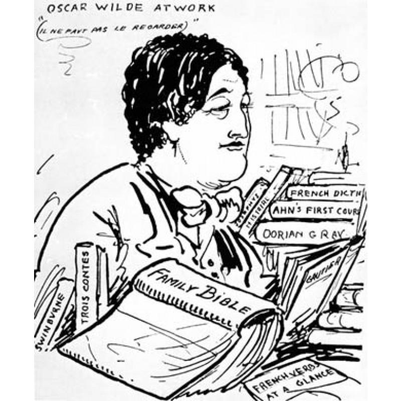 Oscar Wilde At Work