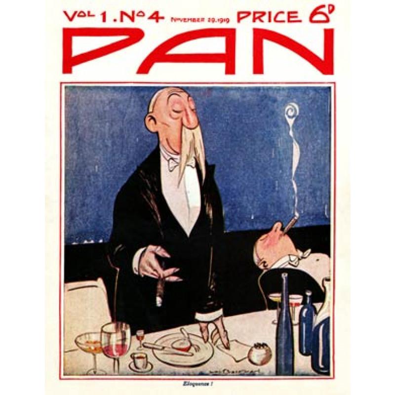 Pan, 29 November 1919, Eloquence