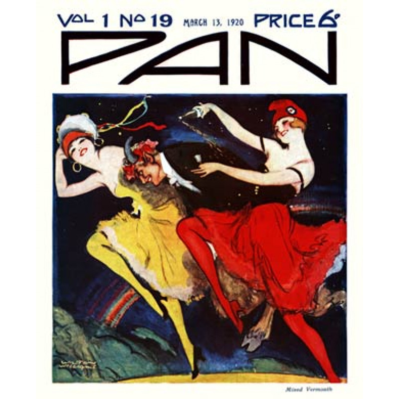 Pan, 13 March 1920, Mixed Vermouth