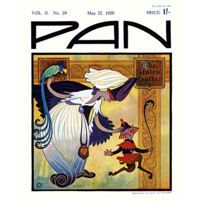 Pan, 22 May 1920, The Stolen Feather