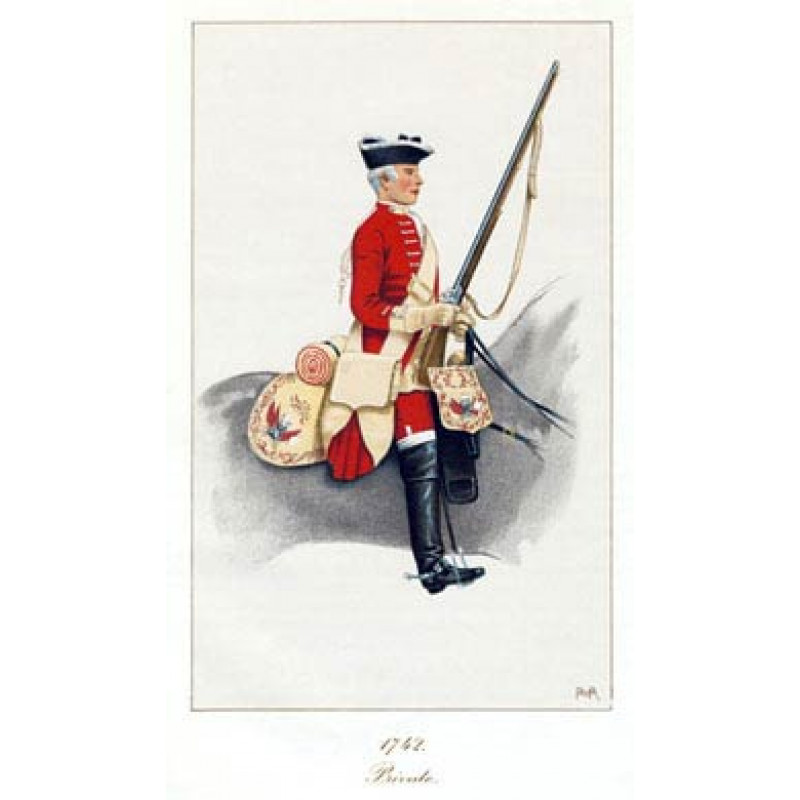 Private, Kerrs Dragoons, 1742