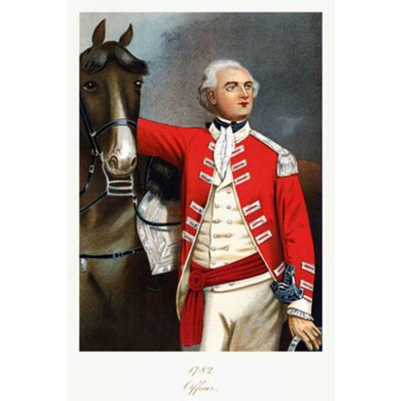 Officer, 11th Dragoons, 1782