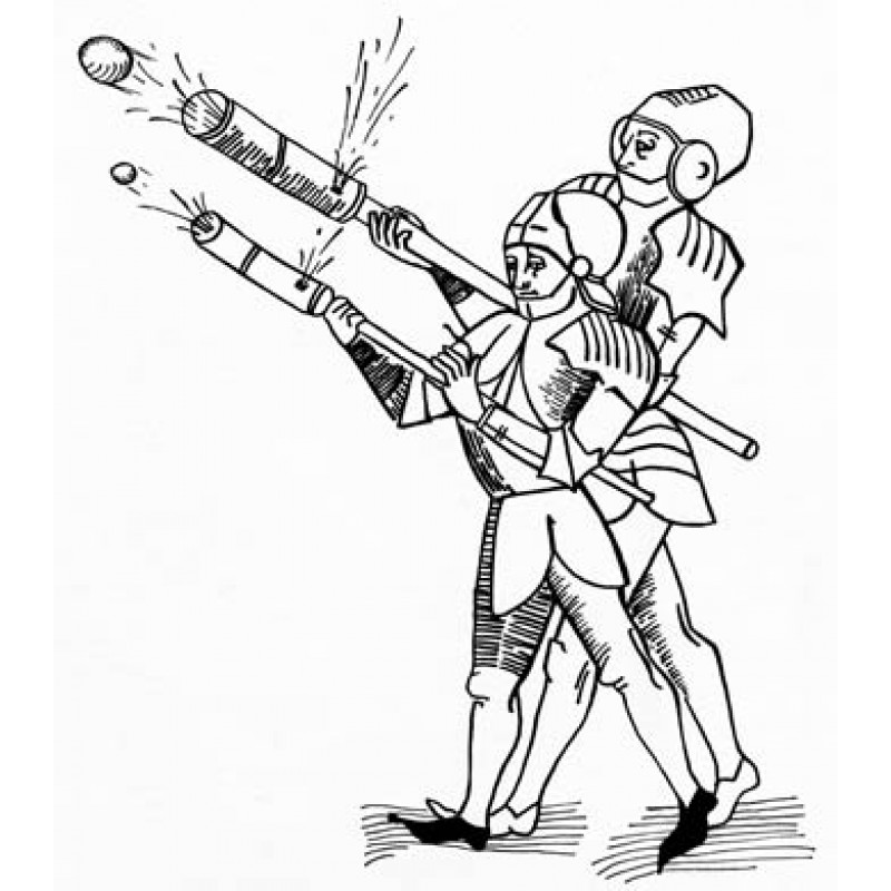 Hand Cannoneers, Early 15th Century