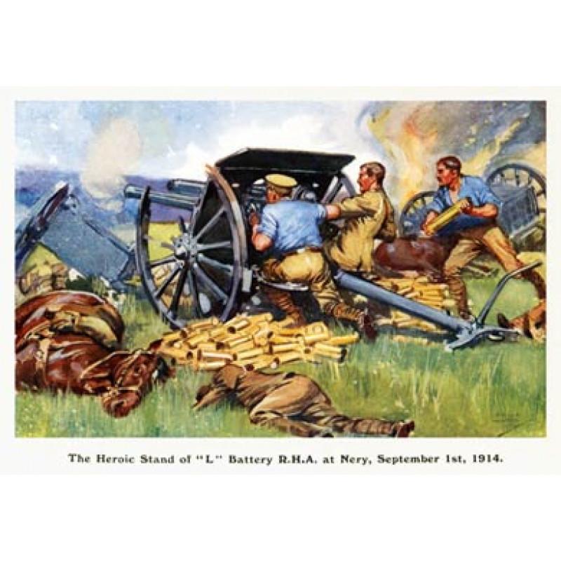 Royal Horse Artillery, Nery, 1914