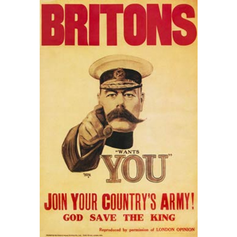 Britons, Kitchener Wants You