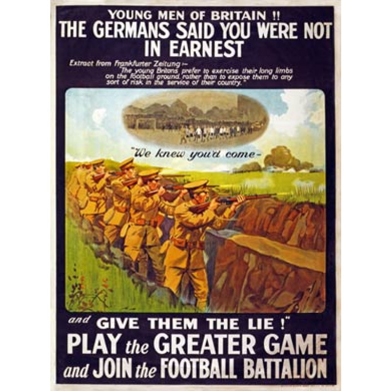 Play The Greater Game, 1915