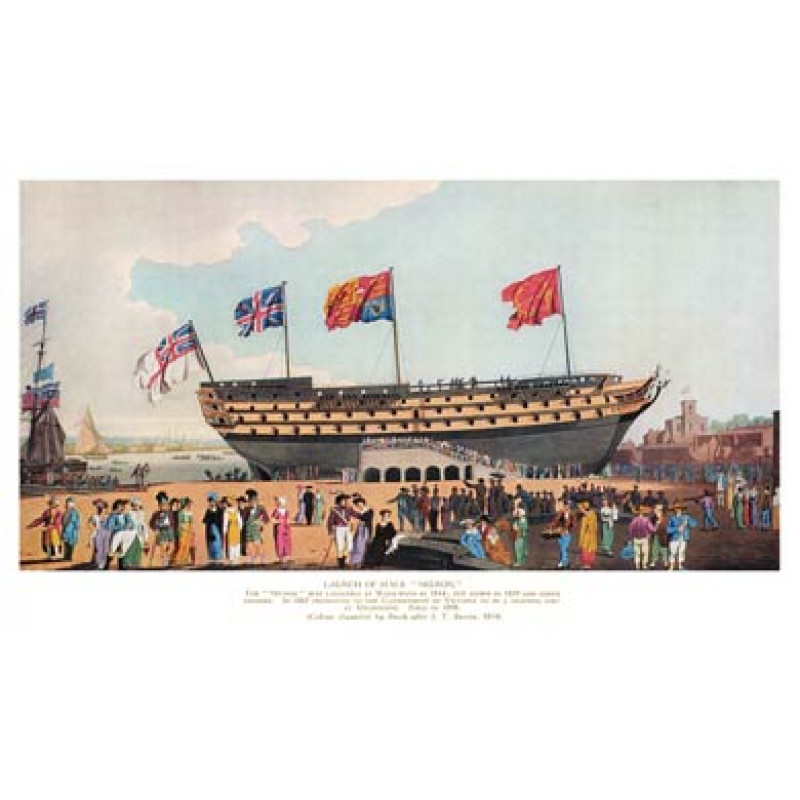 The Launch of HMS Nelson