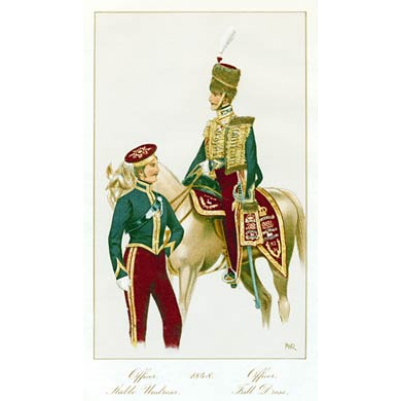 Officers, 11th Hussars, 1848
