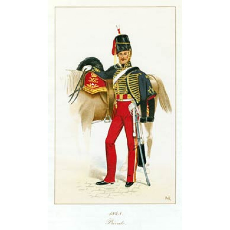Private, 11th Hussars, 1848