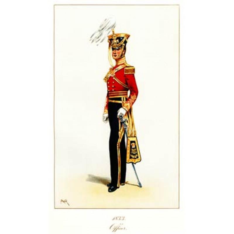 Officer, 11th Light Dragoons, 1833