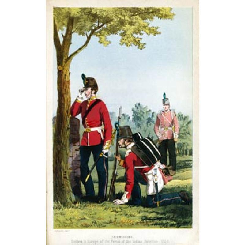 52nd Oxfordshire Light Infantry, 1858