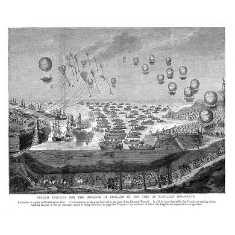 Napoleon Invades England, 1801
