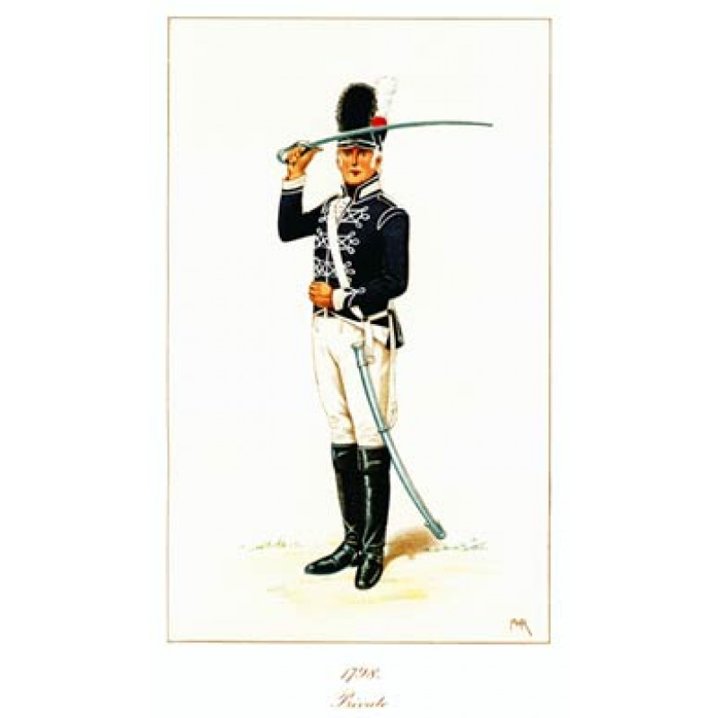Private, 11th Light Dragoons, 1798