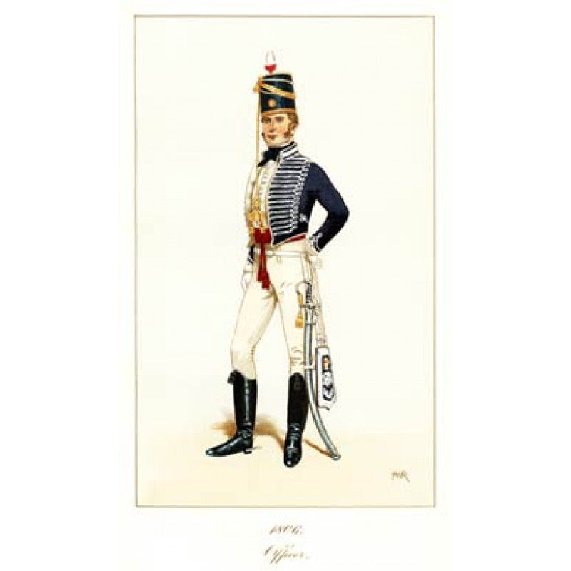 Officer, 11th Light Dragoons, 1806