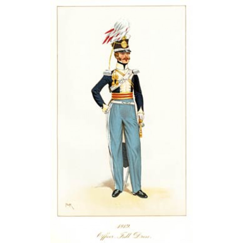 Officer, 11th Light Dragoons, 1819