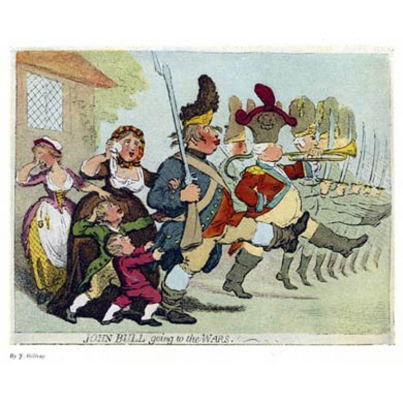 John Bull Going To The Wars