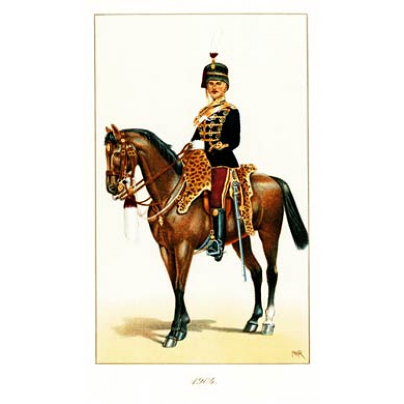Officer, 11th Hussars, 1904