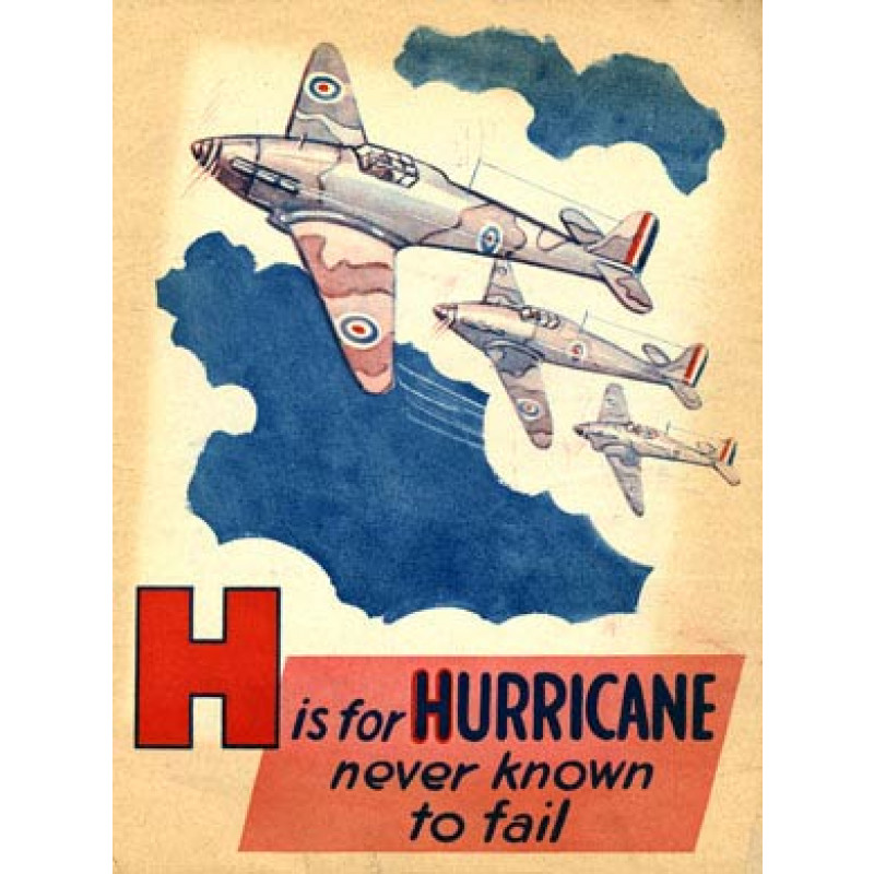 Battle of Britain, H is for Hurricane