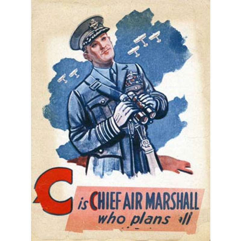 Battle of Britain, C is for Chief Air Marshall