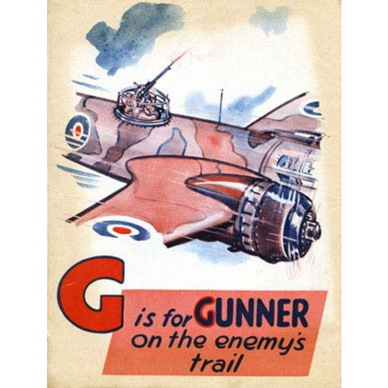 Battle of Britain, G is for Gunner