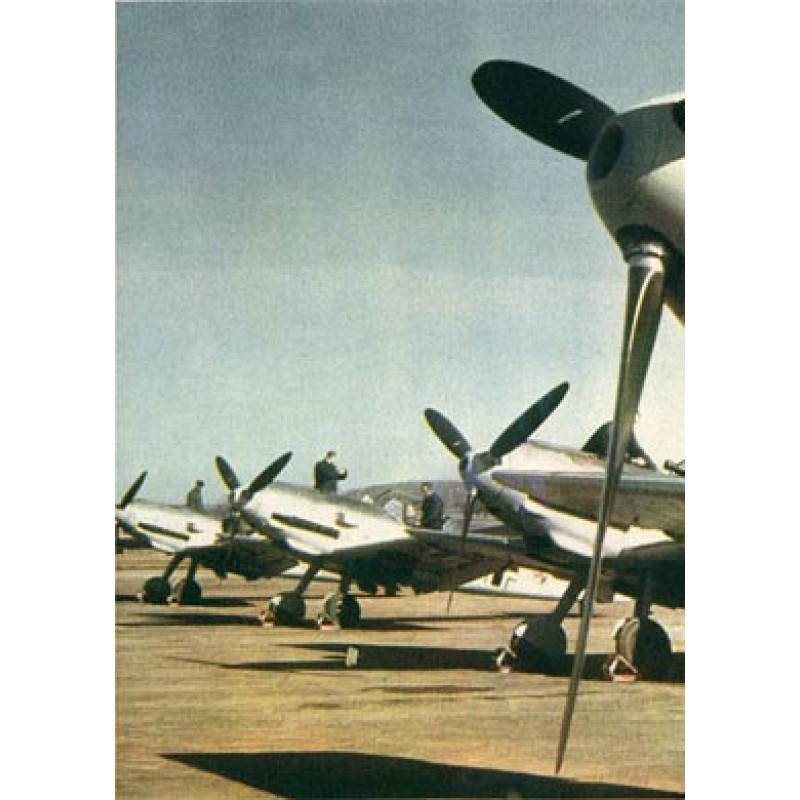 German Airfield, France, 1941
