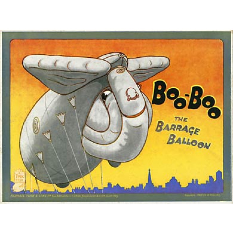 Boo-Boo The Barrage Balloon, 1940