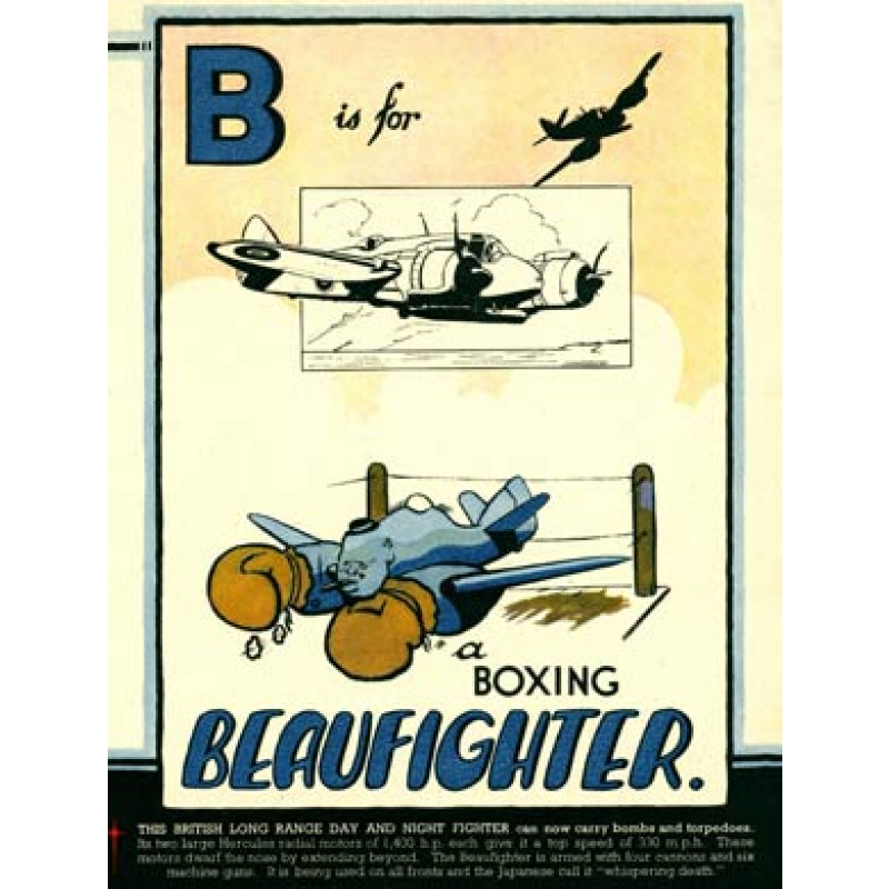 B is for Beaufighter, 1943