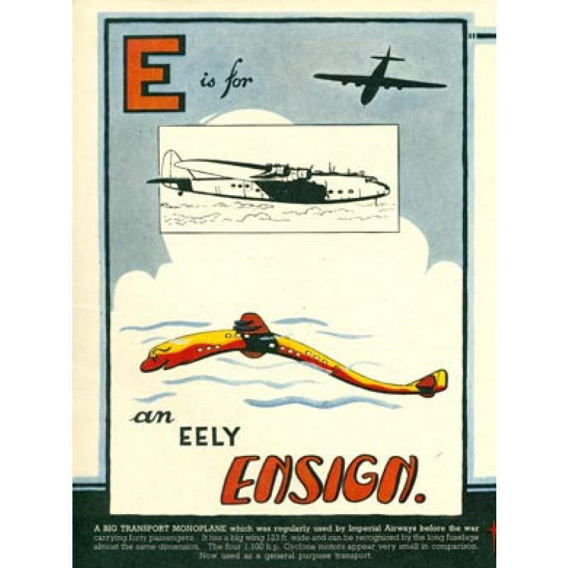 E is for Ensign, 1943