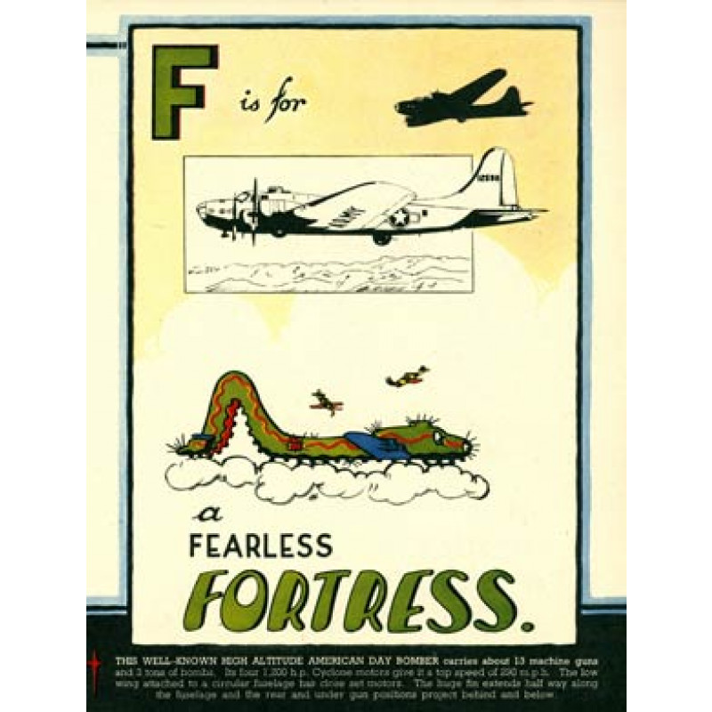F is for Fortress, 1943