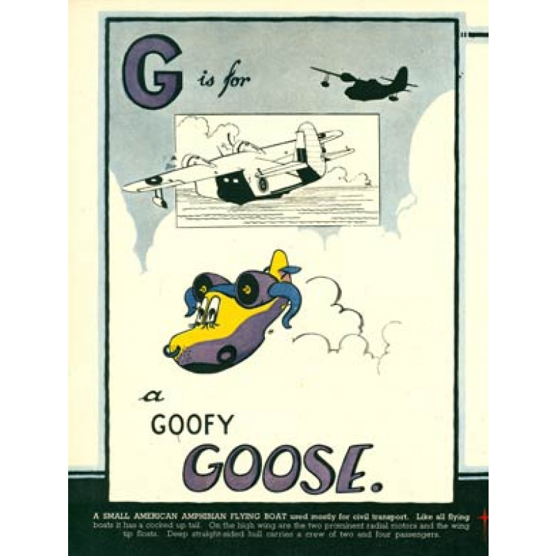 G is for Goose, 1943