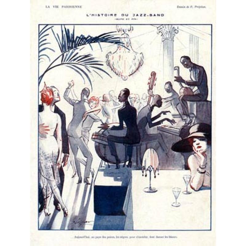L'Histoire Du Jazz Band, 1921