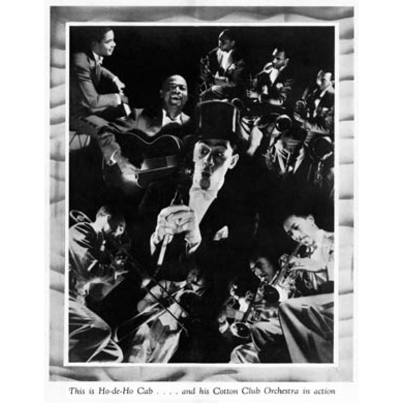 Cab Calloway & The Cotton Club Orchestra, 1934