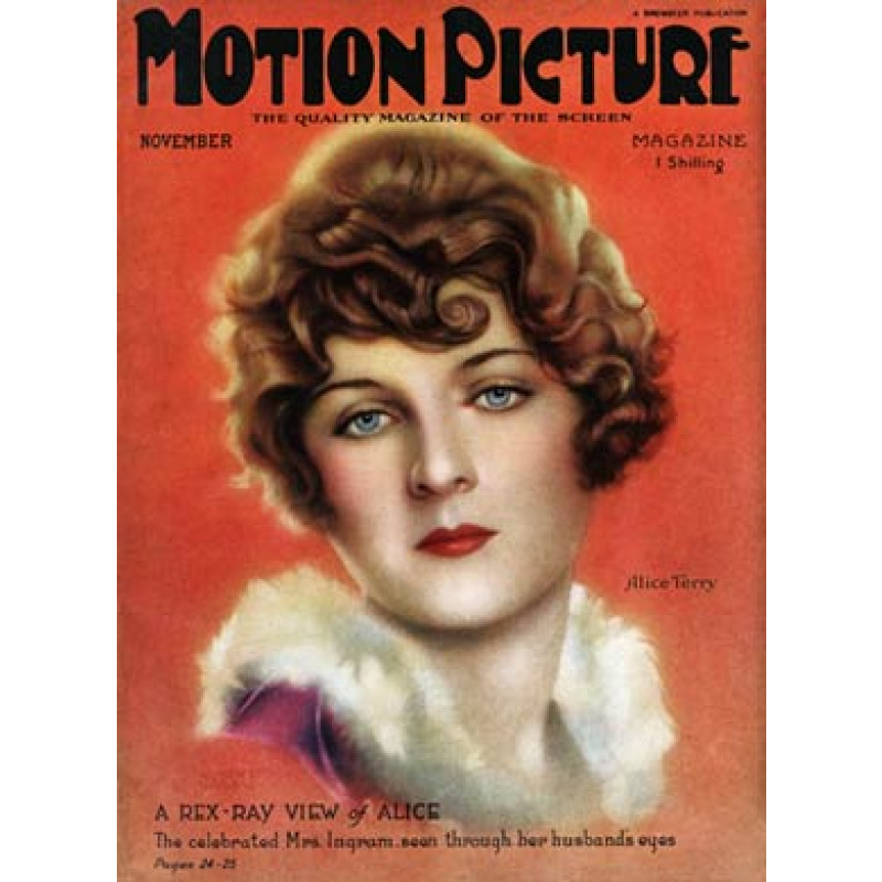 Motion Picture, Nov 1924, Alice Terry
