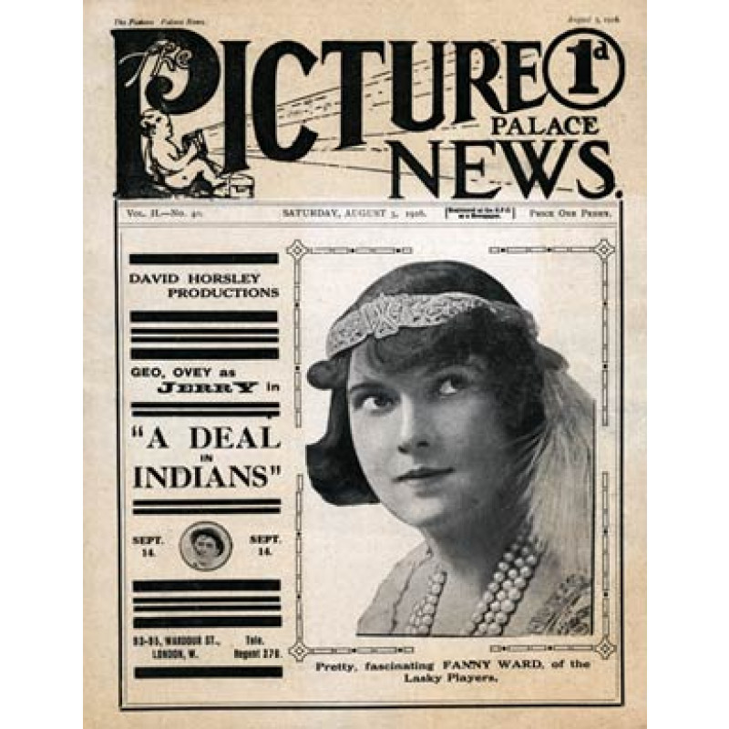 Picture Palace News, 5 Aug 1916
