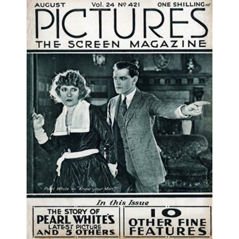 Pictures, Aug 1922, Pearl White