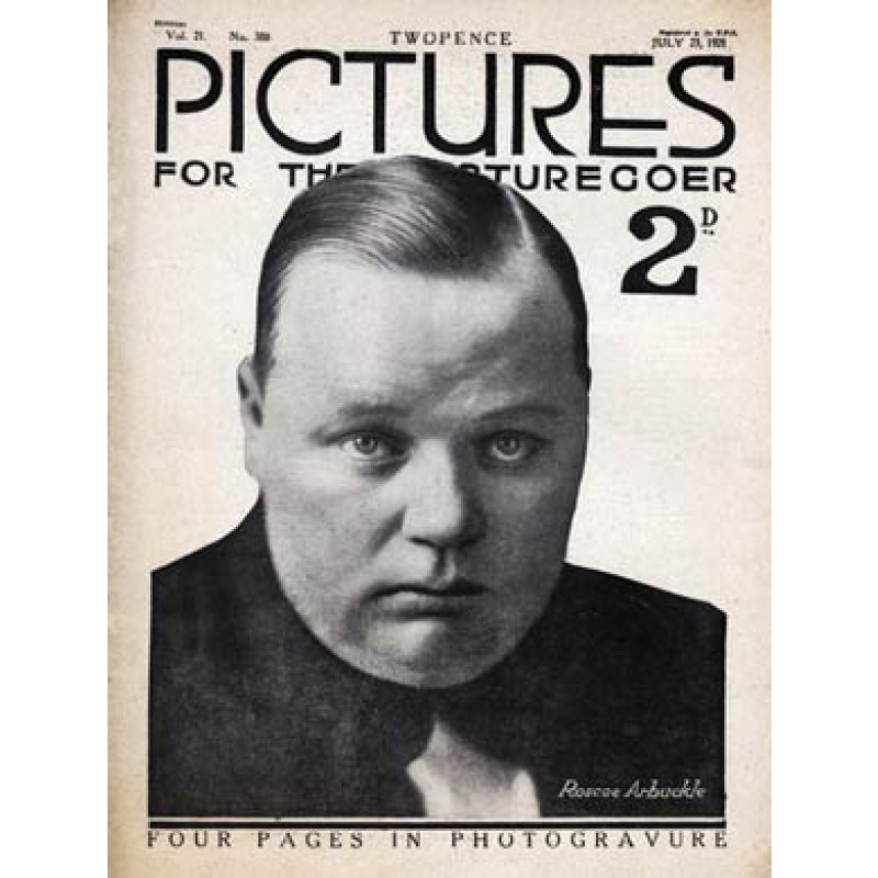 Pictures, Jul 23 1921, Fatty Arbuckle