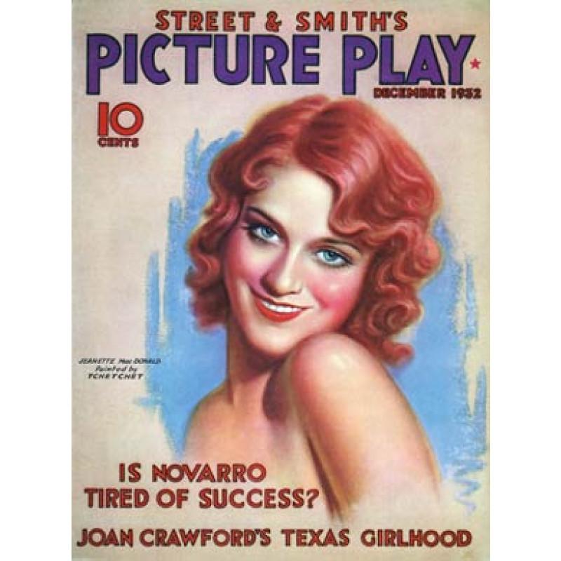 Picture Play Dec 1932, Jeanette MacDonald
