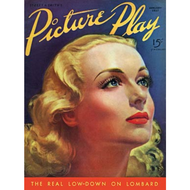 Picture Play, Jan 1937, Carole Lombard