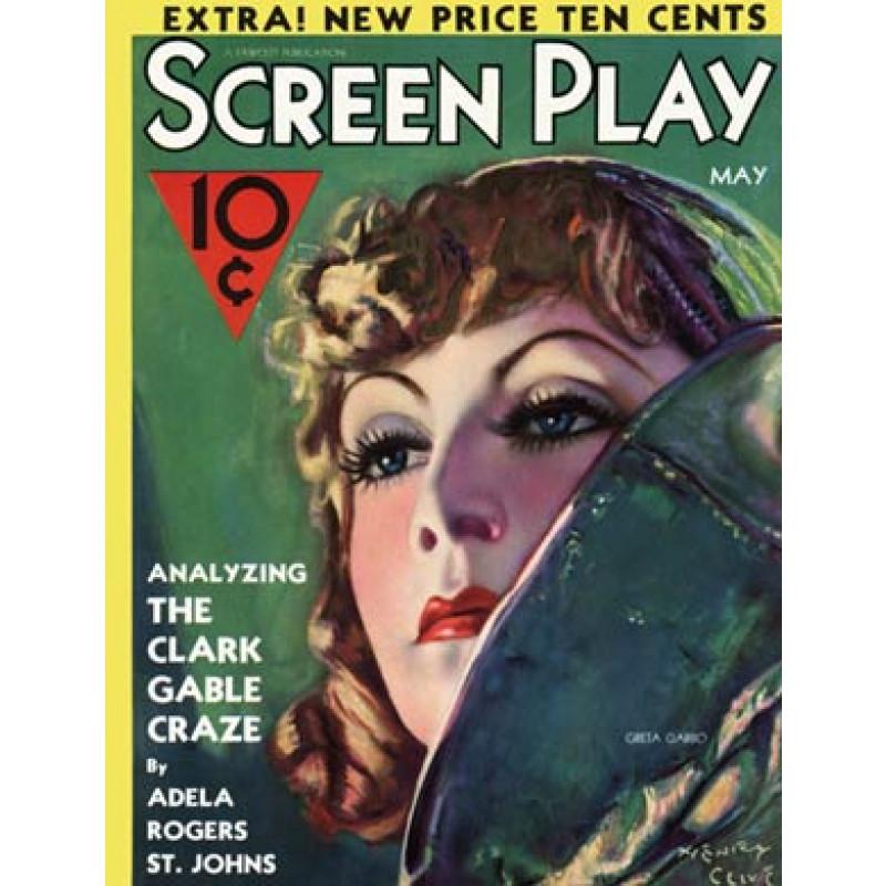 Screen Play, May 1932, Greta Garbo