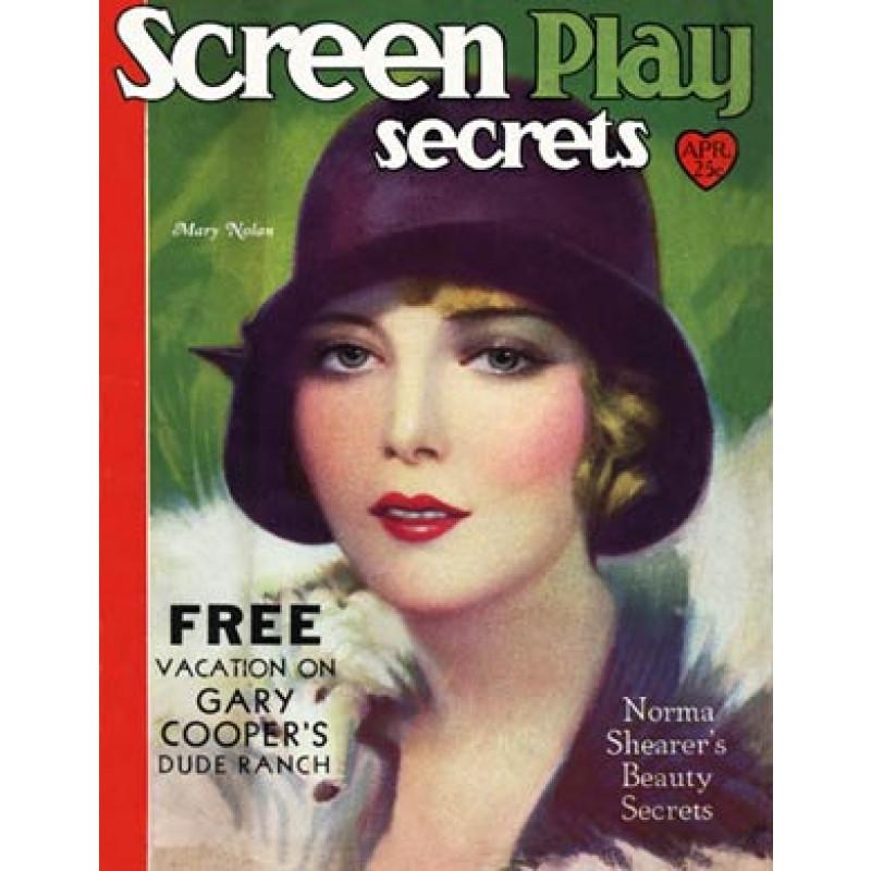 Screen Play Secrets, April 1930, Mary Nolan