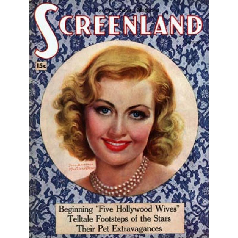 Screenland, Jan 1937, Joan Blondell
