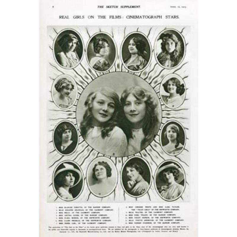 1913 Film Stars