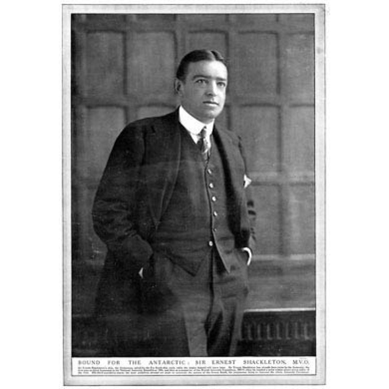 Ernest Shackleton, 1914