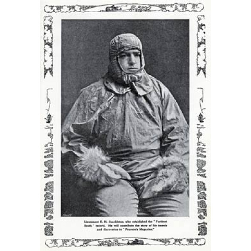 Ernest Shackleton, 1909