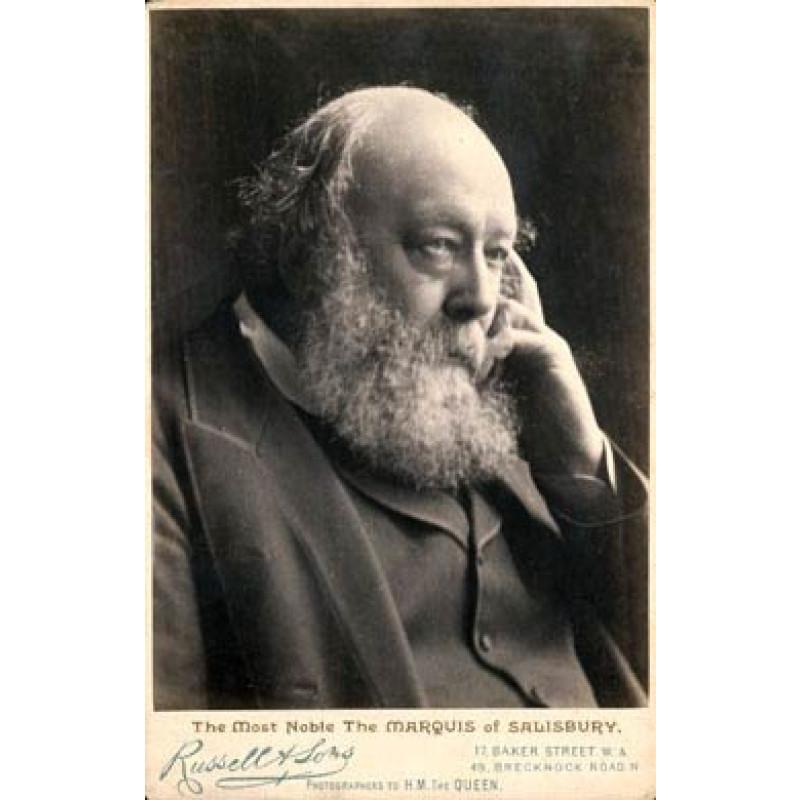 Marquis of Salisbury, 1880