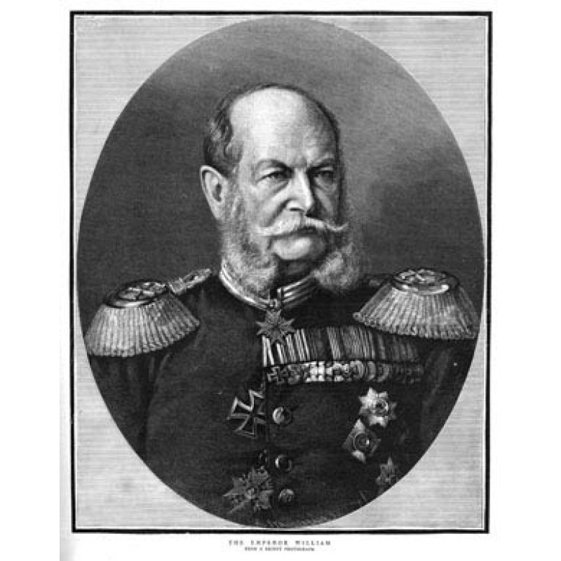 Kaiser William I, 1888