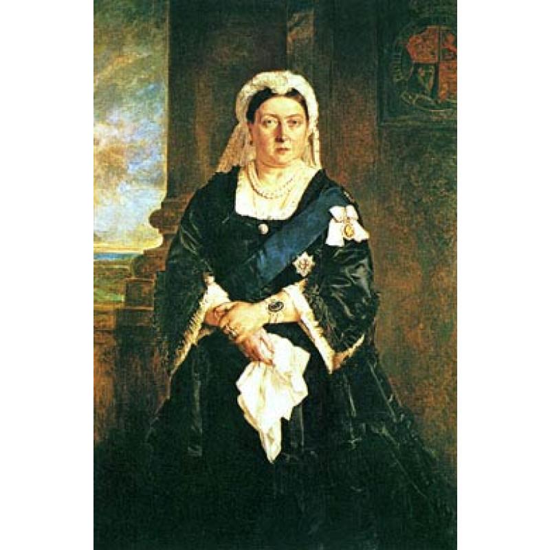 Queen Victoria in 1885