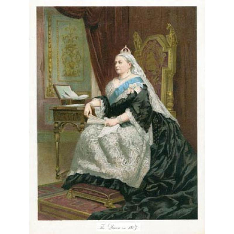 Queen Victoria in 1887