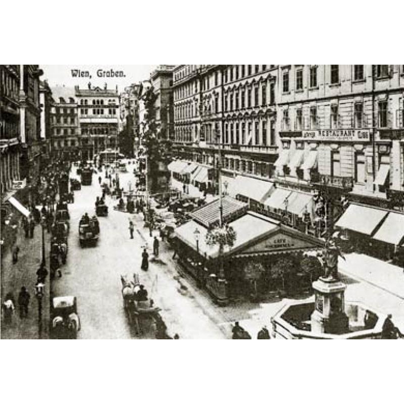Graben Square, Vienna, 1901