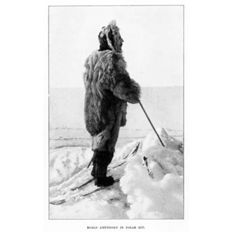 Roald Amundsen in Polar Kit